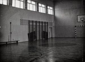 Wnętrze sali gimnastycznej
