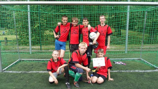 Wojewódzki Turniej Piłki Nożnej Chłopców w Chojnie