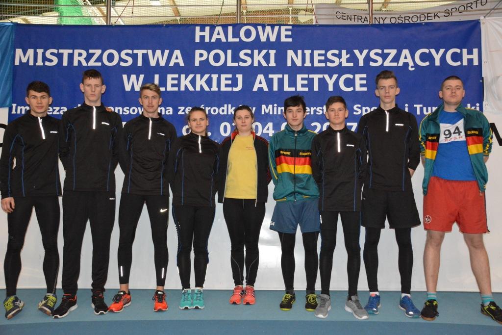 Halowe Mistrzostwa Polski Niesłyszących w Lekkoatletyce Spała 03-04-2017r