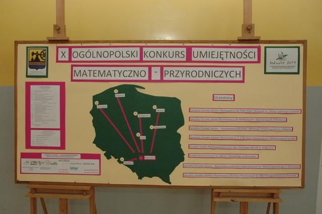 X Ogólnopolski Konkurs Umiejętności Matematyczno-Przyrodniczych w Katowicach