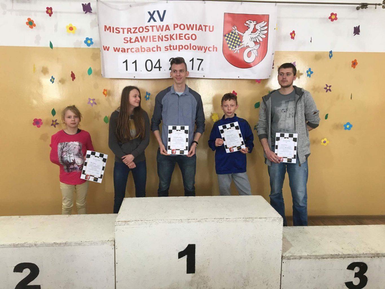 XV Mistrzostwa Powiatu Sławieskiego w warcabach stupolowych