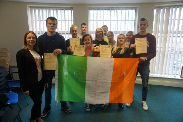 Uczniowie ze Specjalnego Ośrodka Szkolno-Wychowawczego w Sławnie na 2-tygodniowych praktykach w Irlandii