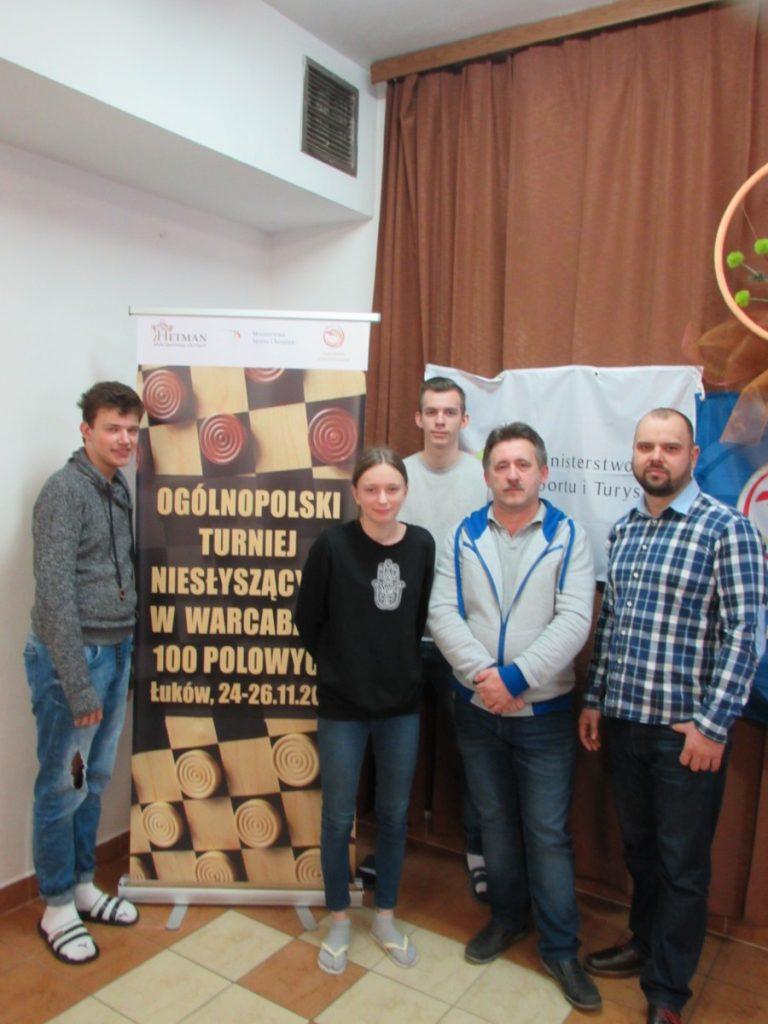 Ogólnopolski Turniej Niesłyszących w Warcabach Łuków