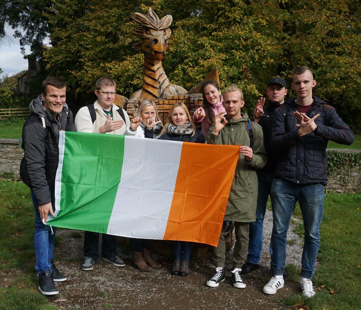 Wspomnienia uczniów z Irlandii