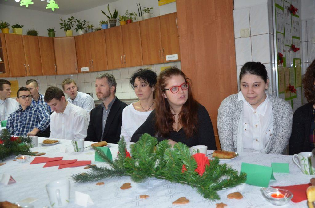 Apel Bożonarodzeniowy w szkole ponadgimnazjalnej