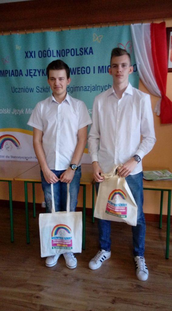 XXI Ogólnopolska Olimpiada Języka Migowego i Miganego Uczniów Szkół Ponadgimnazjalnych w Kielcach