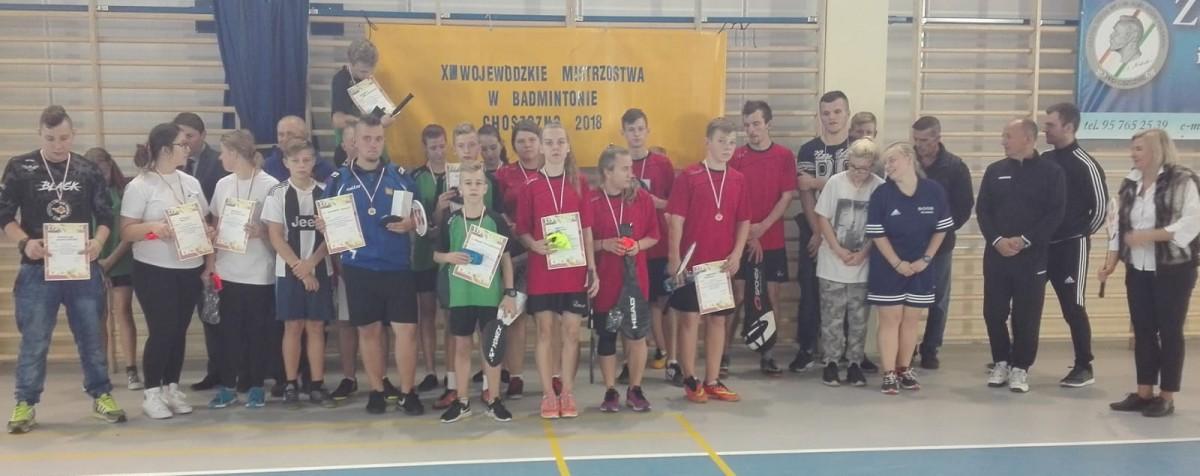 Mistrzostwa Województwa w badmintona