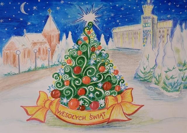 """""""Projekt kartki na Święta Bożego Narodzenia"""" – zwycięska praca Agaty Banasik – aktualizacja"""