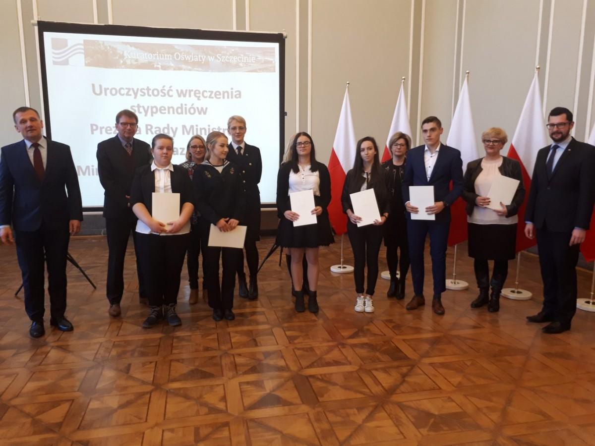 Patrycja Larwińska – kolejną uczennicą wyróżnioną  stypendium Prezesa Rady Ministrów