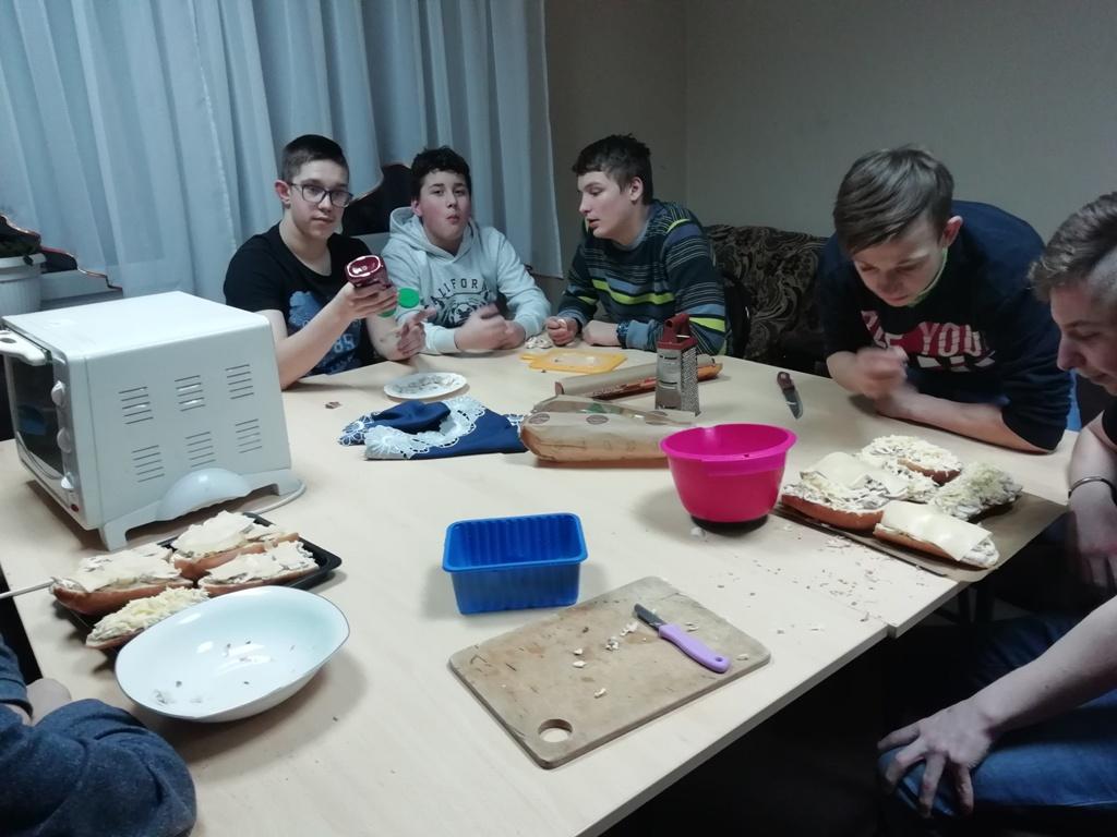 Zajęcia kulinarne w grupie III