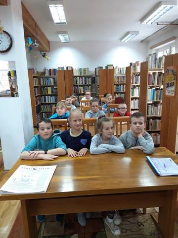 Z wizytą w bibliotece (klasy I-IIISP)
