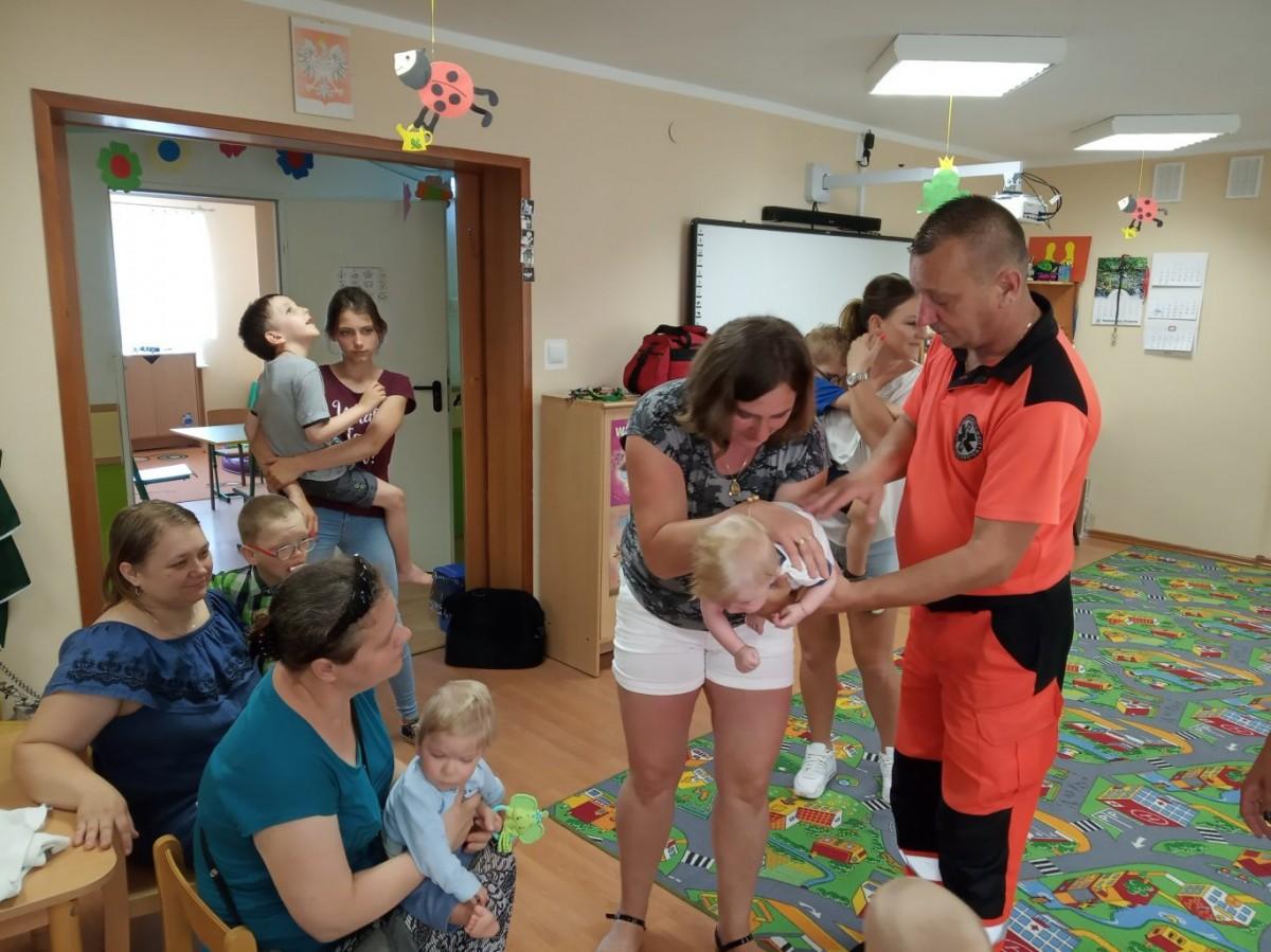 Bezpieczne wakacje – zajęcia dla przedszkolaków i ich rodziców.