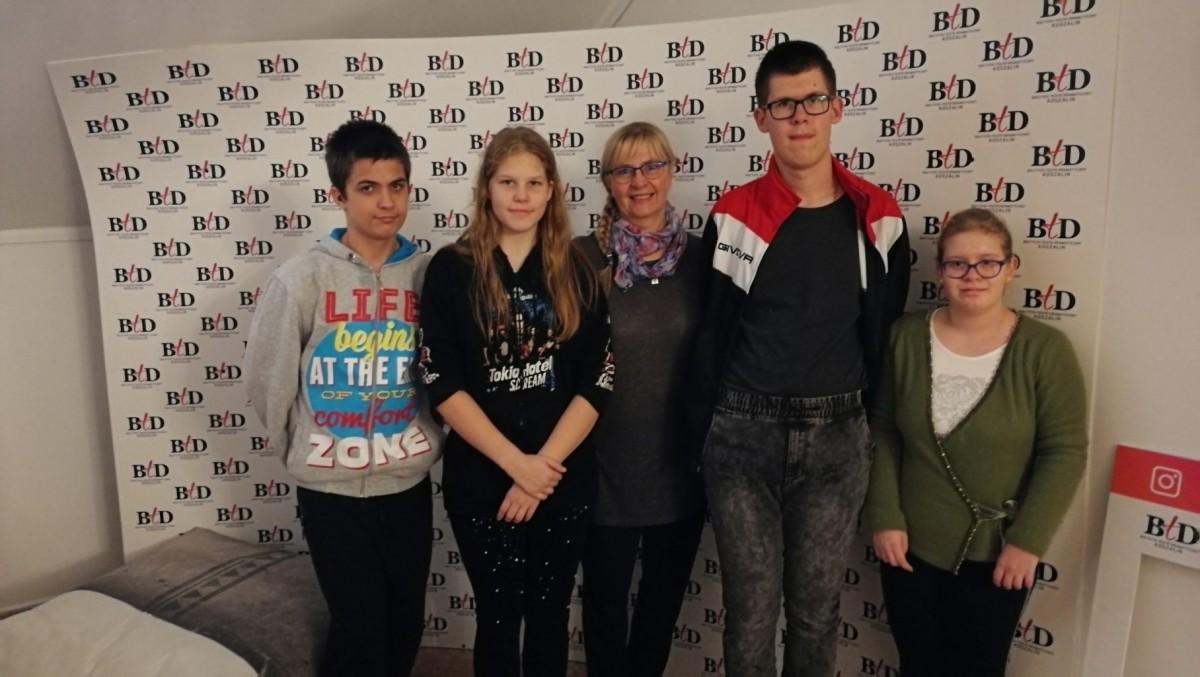 Klasa 7a w koszalińskim Bałtyckim Teatrze Dramatycznym