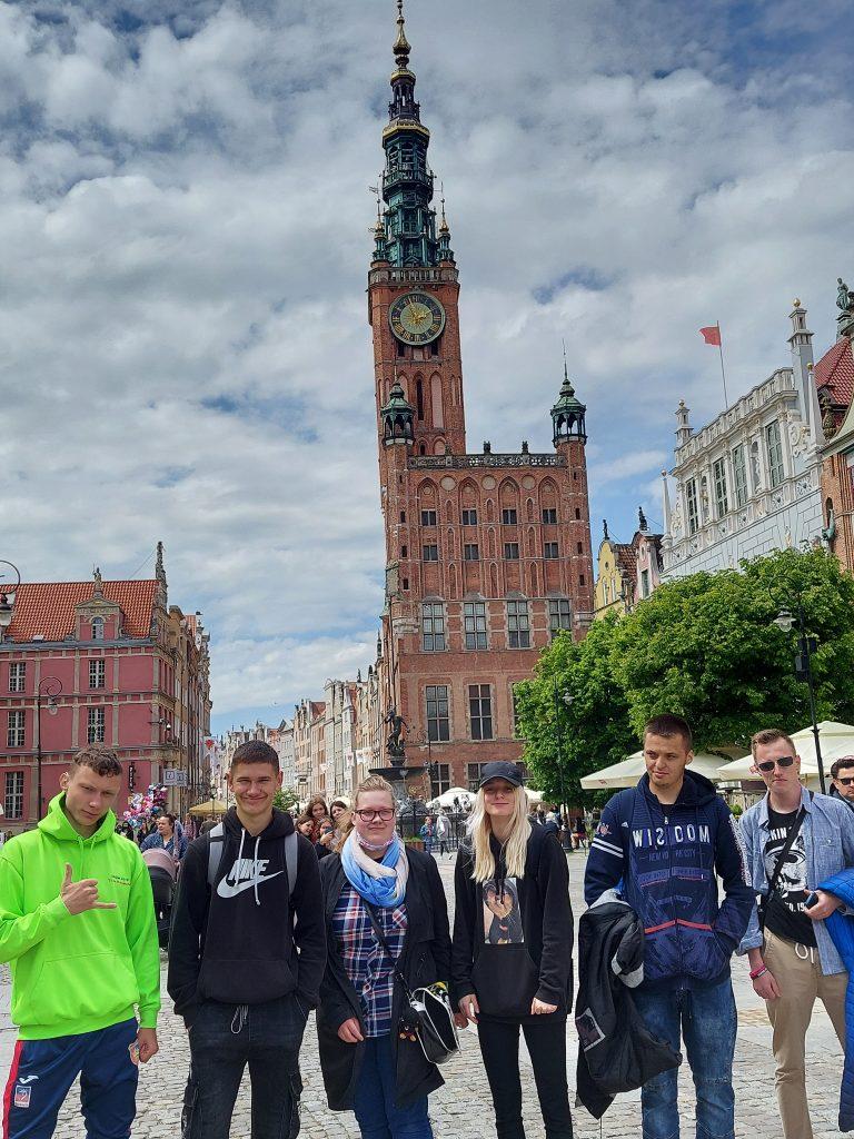 Wycieczka do Gdańska kl. II a BSI