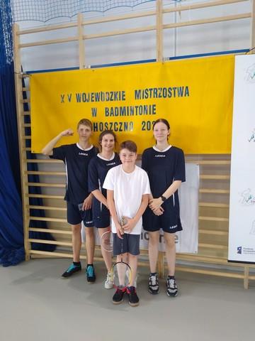 Mistrzostwa Województwa Zachodniopomorskiego w badmintonie – Choszczno, 29.09.2021r.